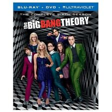 The Big Bang Theory Complete Sixth Season 6 NEW Blu-ray + DVD + Ultraviolet