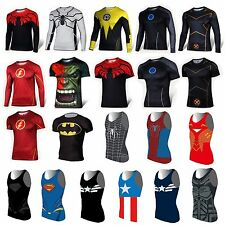 Marvel Superhero Casual Comics Costume Cycling T-Shirts Bicycle Sport Jersey