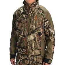 Browning Hells Canyon Softshell Jacket - Mossy Oak Camo Treestand Harness Compat