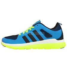 Adidas Neo Label X Lite TM Blue Navy Yellow Mens Running Shoes Sneakers F98745