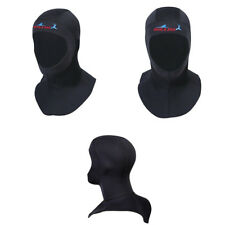 New Black 3mm Neoprene Scuba Diving Neck Cover Hat Scuba Diving Hood Diver's Cap