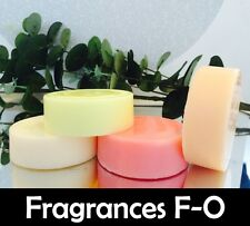 10x Highly Scented Melts for Oil Burner (Scents F-O) 100% Soy Wax - All Natural
