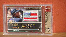 2009 UD Signature Stars Pride of a Nation Kyle Blanks Auto Card BGS 9.5 Auto 10.