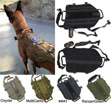 Army Tactical Dog Vests Hunting Dog Training Molle Vest Outdoor Military Clothes