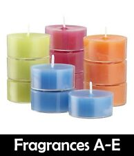 Scented Tealight Candles - 100% Soy Wax (Scents A-E) - 6pk 12pk 24pk Tea Lights