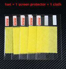 100sets Clear Front Screen Protector film for iPhone 6 plus 5s 5c 4s with cloth