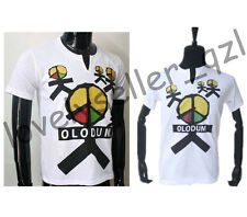 Unisex Michael Jackson OLODUM Cotton T-shirt White THEY DONT CARE ABOUT US Shirt