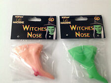 HALLOWEEN WITCHES NOSE GREEN OR PLAIN
