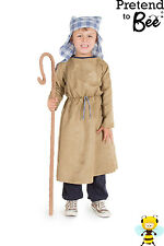 BOYS KIDS CHILDRENS CHILDS JOSEPH OR SHEPHERD NATIVITY COSTUME OUTFIT AGE 3-5-7