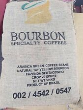 Brazil Fazenda Sertaozinho Unroasted Green Coffee Beans Pulped Natural Bourbon