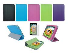 Folio Skin Cover Case and Screen Protector for Toshiba Encore WT8-A32 Tablet