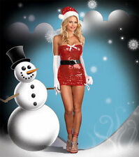 "5960 Dreamgirl Christmas ""Red Hot Holiday"" Costume several sizes"