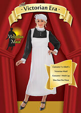 ADULT LADIES LADY VICTORIAN MAID FANCY DRESS COSTUME