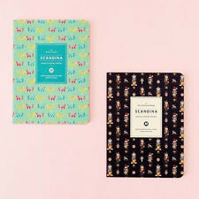 [Scandina Monthly Journal_Small] Diary Scheduler Journal Monthly Weekly Planner