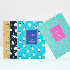 [Animal Monthly Journal_Small] Diary Scheduler Journal Monthly Weekly Planner