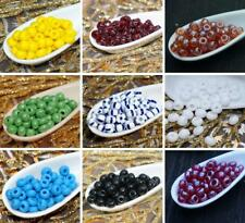 20g Large Seed Beads Czech Glass Seed Beads 4/0 PRECIOSA Seed Beads Size 4 Pearl