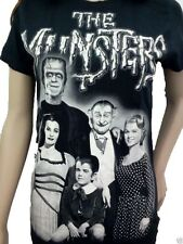 THE MUNSTERS Womens T-SHIRT Free Shipping  New Size SM,MED,LG,XL