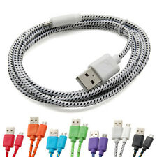 Braided Micro USB Data Sync Charger Cable For Samsung Galaxy S3 S4 S6 Edge Note4