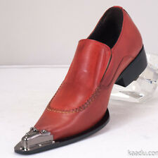 XL153 Clevis Fashion Shoe Loafer Red Steel Hardware Toe