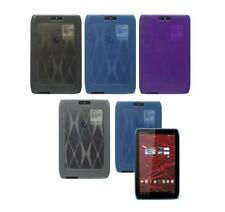 """for Motorola Droid Xyboard 8.2"""" Tablet TPU Gel Shell Skin Case Cover"""