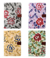 Antique floral printed folding folio stand pu leather case cover for ipad mini4