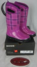 BOGS Classic Plaid Winter Kids Youth Infant Boots #71544 WP Girls Snow