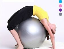Woman Thicken Yoga ball Fitness ball Explosion-proof ball + Inflator Weight loss
