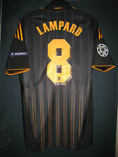 Chelsea ADIDAS 2010-11 Champions League Techfit Player Issue Away Shirt LAMPARD