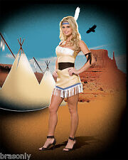 DREAMGIRL 5954  Women's Pow Wow Princess Indian Costume several sizes NEW