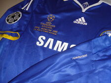 Chelsea ADIDAS 2008 UEFA Champions League Final Formotion Player-issue Shirt