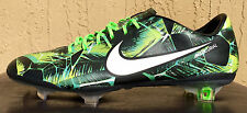 "Mens Nike Mercurial Vapor IX LE ""Brazilian Pack"" FG Soccer Cleats Size 7.5 GREEN"