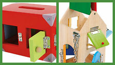 toy locks house of locks, lock box motor activity training locks open close NEW