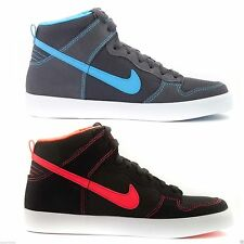 Nike Women's Dunk High Tops AC Trainers Lace Up Shoes Casual Rubber Sole Suede