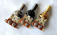 Quality 3 Way Toggle Switch & Genuine Brass Tip for Gibson Epiphone Guitar