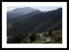 Tour de France Pyrenees Mountains Cycling Photo Memorabilia (062)