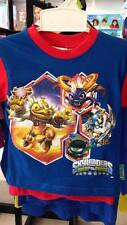 Kids Official Licensed Skylanders Giants Boys Shorts T-Shirt Set BNWT Red Blue