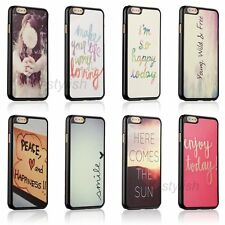 Funny Quirky Quote Hard Case Skin Cover For Apple iphone 4 4s 5 5c 5s SE +Film