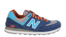 New Balance Mens Sneakers 574 Out East Navy Blue Orange ML574SON