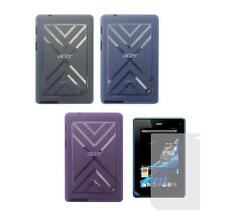 TPU Gel Skin Cover Case and Screen Protector for Acer Iconia B1-A71 Tablet