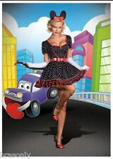 DREAMGIRL 6396 Womens Mousin Around Mouse Costume several sizes reg $69