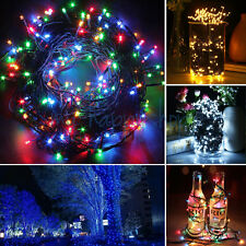 20M 200 LED Christmas Fairy String Lights Inside Outside Xmas Tree Garden Party