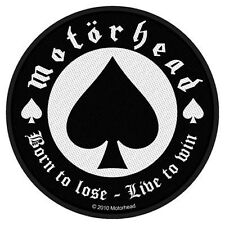 Motorhead Born Lose Patch - NEW & OFFICIAL