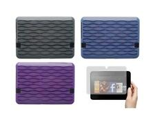"""TPU Gel Skin Cover Case and Screen Protector for Amazon Kindle Fire HD 7"""" 2012"""