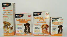 VetIQ Serene-UM Calming Tablets or Drops. Ideal for Anxious Cats or Dogs