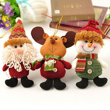 New Christmas Santa Claus Ornaments Festival Party Xmas Hanging Decoration Gift