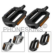 MOUNTAIN ROAD CYCLE BIKE BICYCLE BMX MTB CYCLING ALLOY FLAT PLATFORM PEDAL 1.4cm