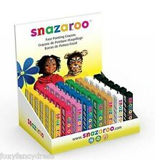 Professional Snazaroo Face Painting STICK 8cm Crayon Stage Make Up Fancy Dress