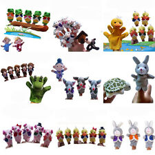 Story Telling Finger Puppets Nursery Rhyme Fairy Tale Aussie Animals Cartoon