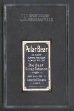 "1909 T206 Polar Bear Doolan SGC 30 Missing ""IE"" in ""SERIES"" RARE!"