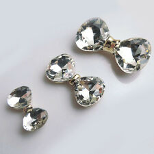 Popular Bling Crystal Bow DIY Cell Phone Cases Sticker Deco Kits